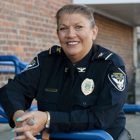 Image of the Chief of Police from Ironton, Ohio, Pamela Wagner
